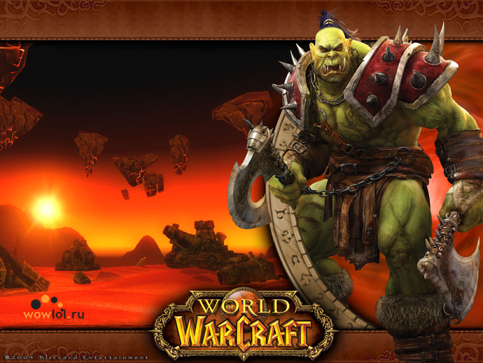 скачать обои world of warcraft