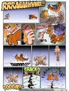 комикс Teh Gladiators на русском 107 выпуск