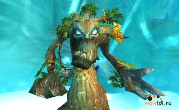 Друид в форме дерева