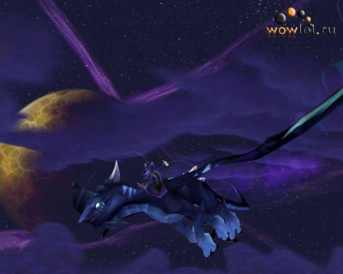 Што бы и не говорили о мультяшной графике, но красоты World of Warcraft не занимать.