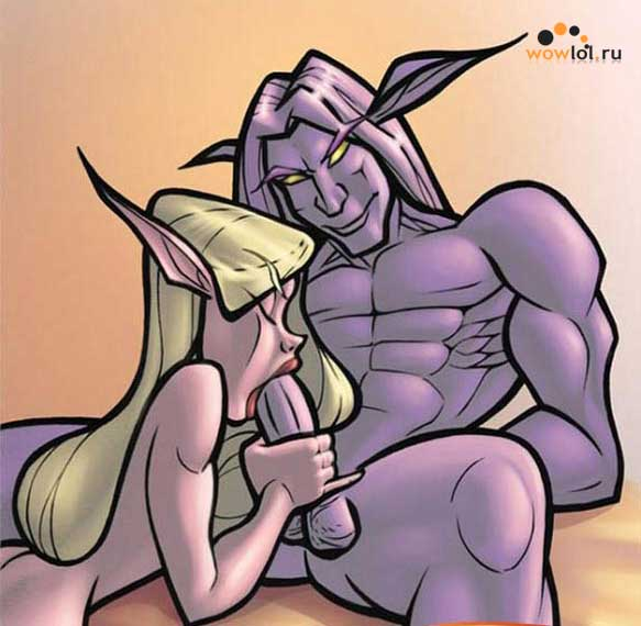 Порно комикс, в котором сексапильные пленные эльфийки натягиваются своими у