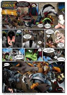 wow комикс Looking For Group на русском перевод