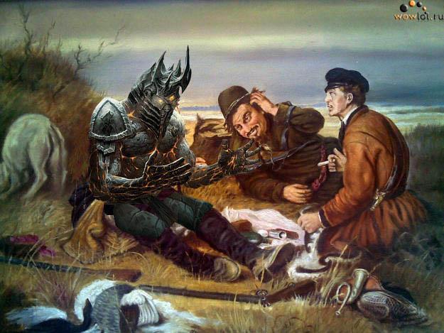 Два охотника и Болвар