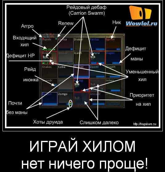Играть хилом так просто!