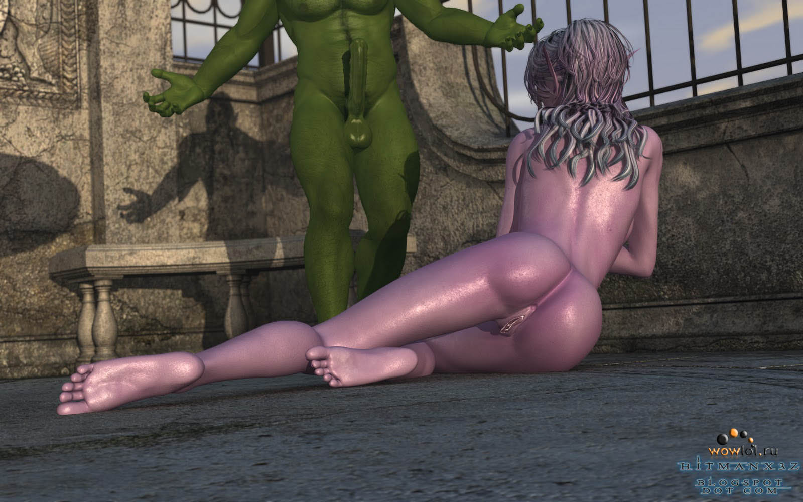 3d World of Warcraft porn v34 porn scene