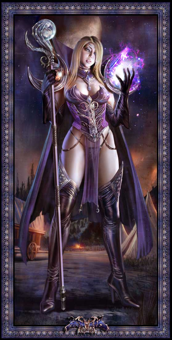 female warlock