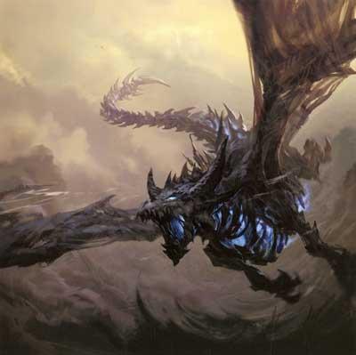 дракон с заставки world of warcraft