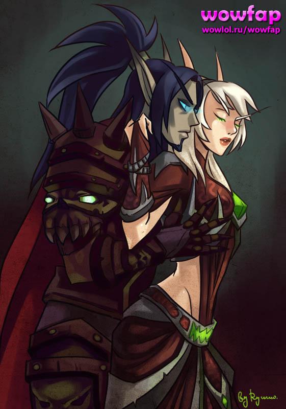 Эльф и эльфийка