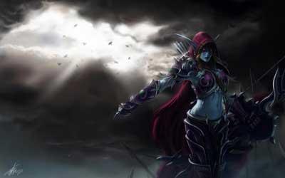 Тёмная эльфийка
