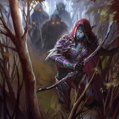 Эльфийка и лес