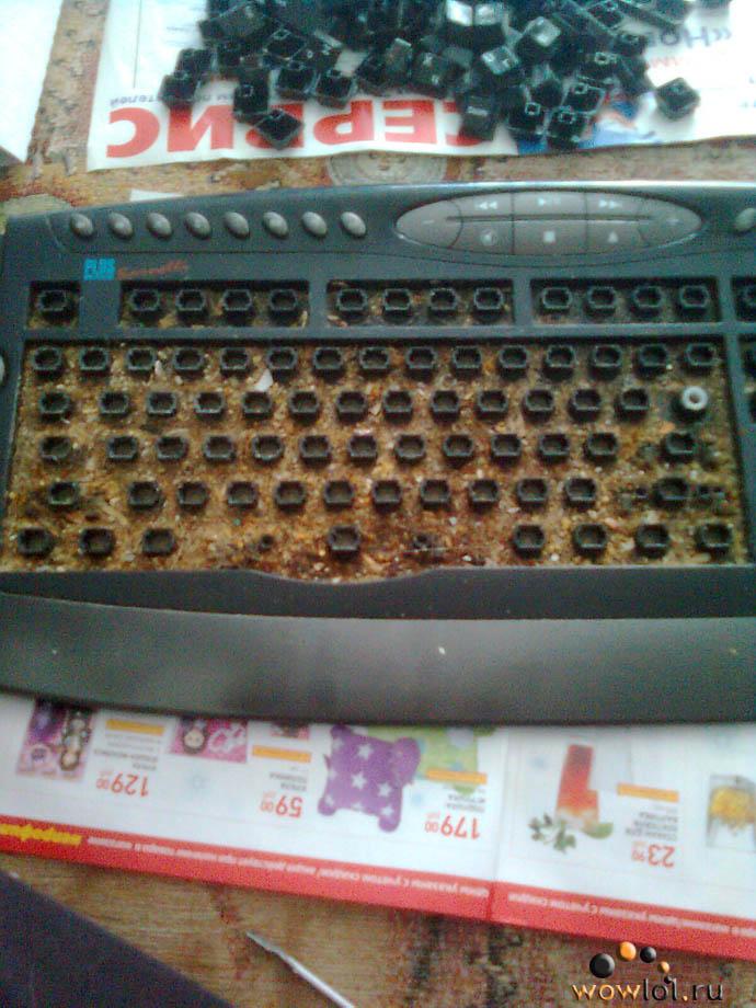 Задротская клавиатура.