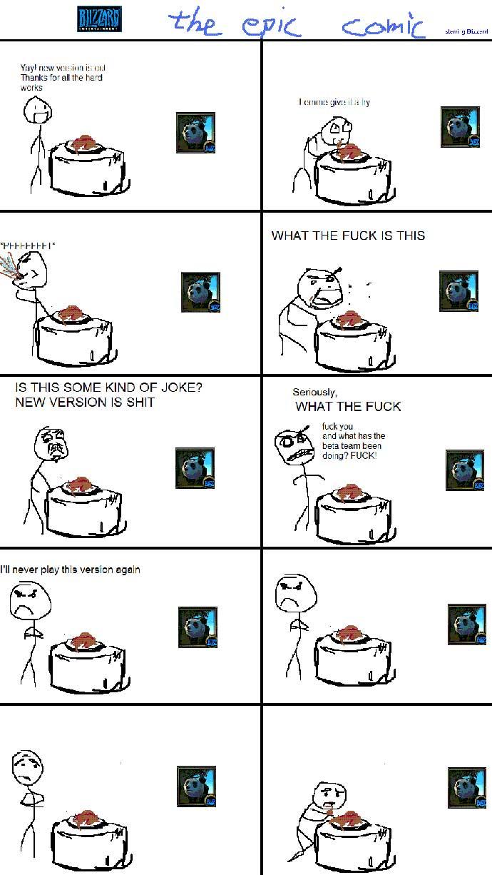 Почему вов не торт?