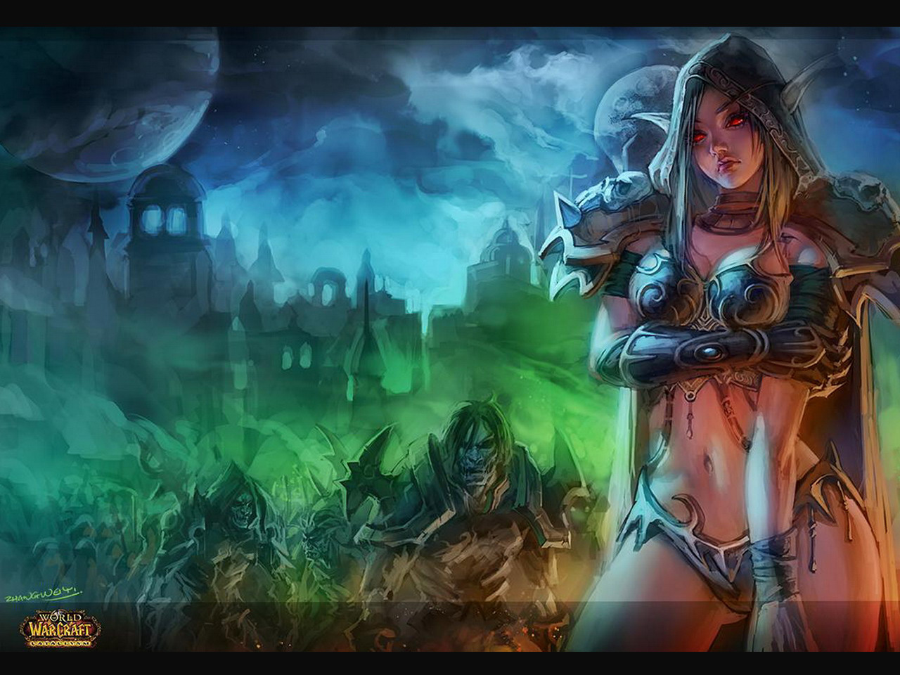 Wow undead 3d image naked galleries