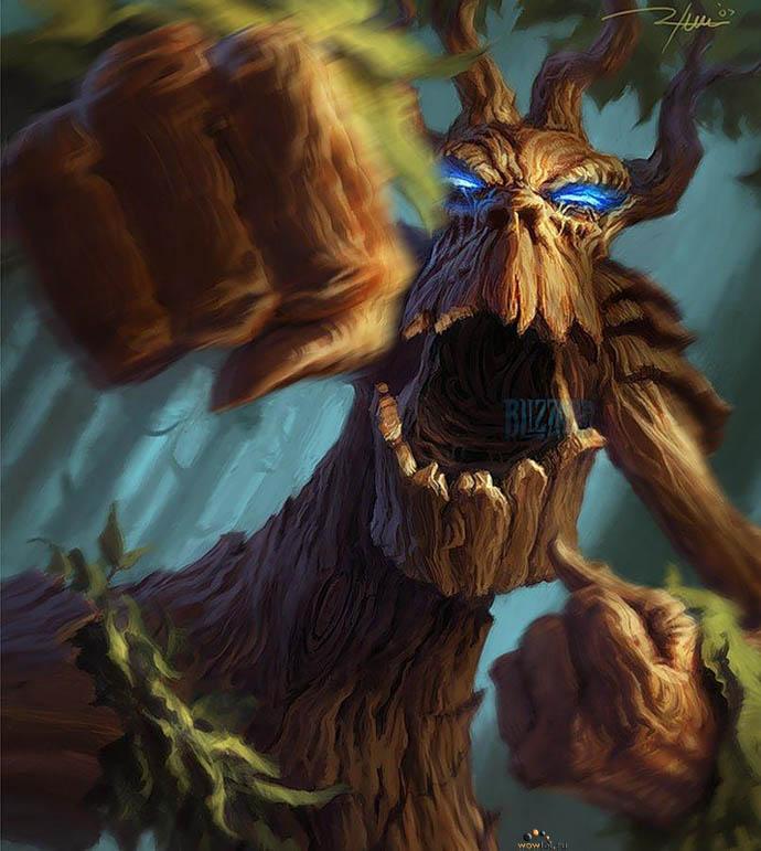 Деревце дает сдачи