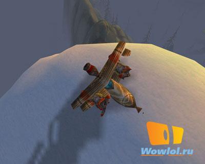 Самолетик на горе Хиджал