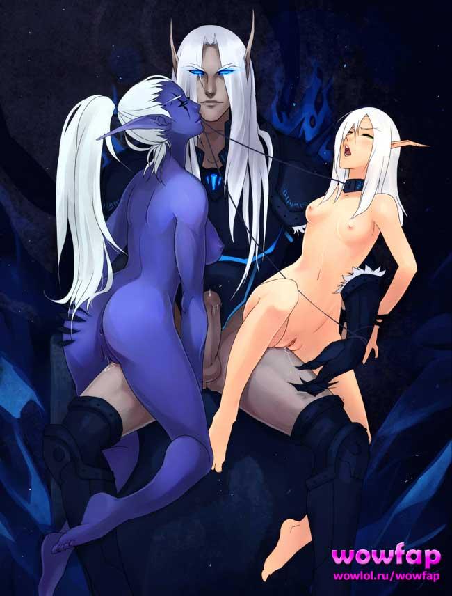 Эльф и две эльфийки