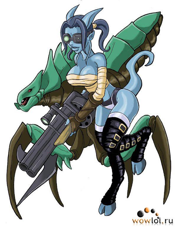 дреня-хант и ее киражский жук