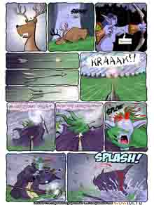 wow перевод комиксов Teh Gladiators Типа Гладиаторы выпуск 120