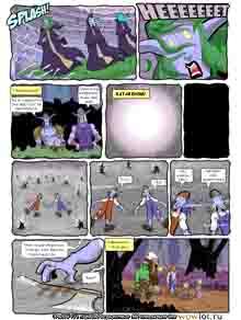 wow перевод комиксов Teh Gladiators Типа Гладиаторы выпуск 121
