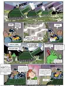 wow перевод комиксов Teh Gladiators Типа Гладиаторы выпуск 132