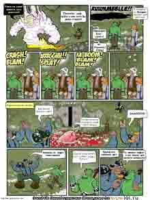 wow перевод комиксов Teh Gladiators Типа Гладиаторы выпуск 136