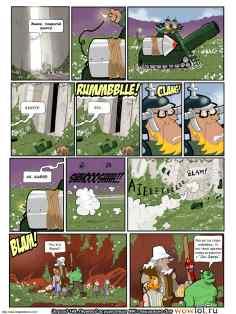 wow перевод комиксов Teh Gladiators Типа Гладиаторы выпуск 149