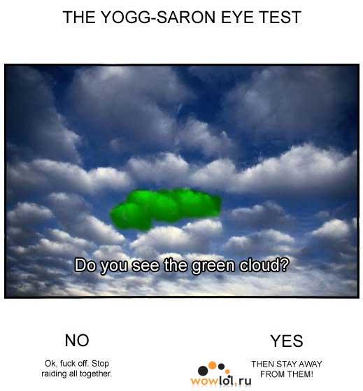 Йог-Саррон, тест на профпригодность.