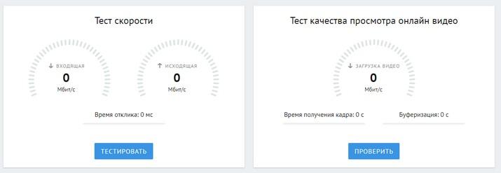 Тест скорости