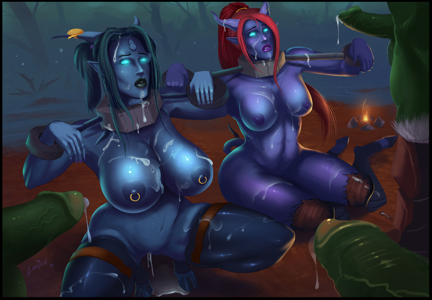 Draenei porncraft erotic picture