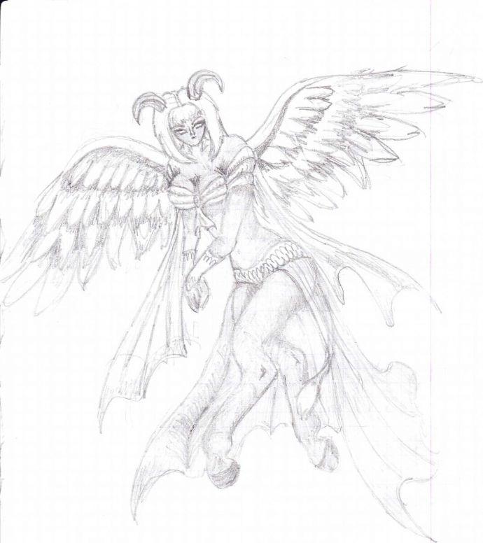 Дренейка с крыльями