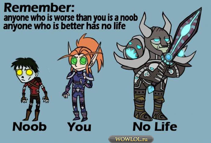 Noob - You - No life