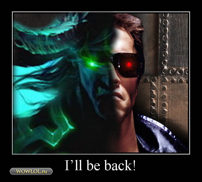He will be back