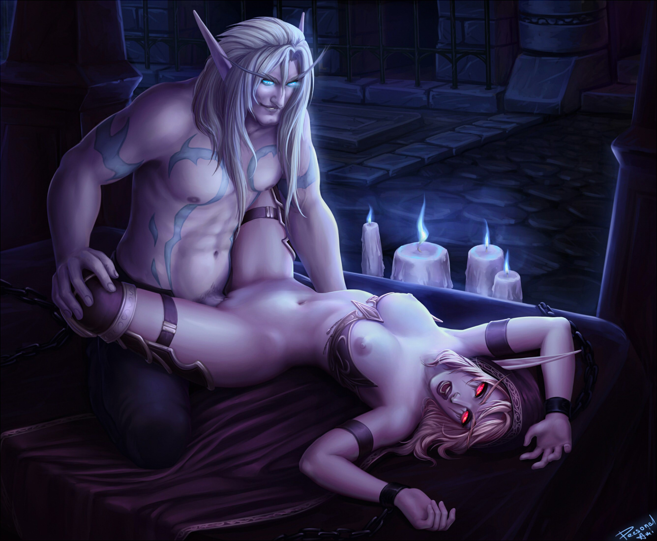 Sylvanas windrunner sex art nudes movie