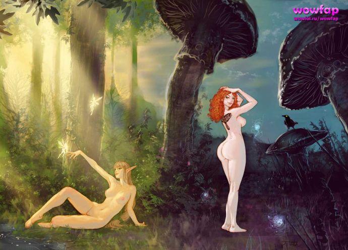 Девушки на фоне красивых пейзажей