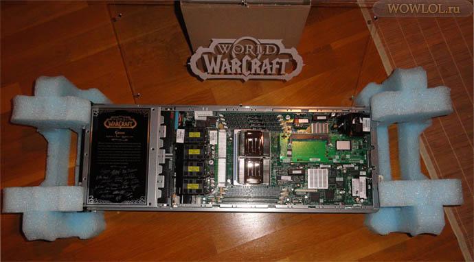 Как выглядел сервер Wow в 2010ом