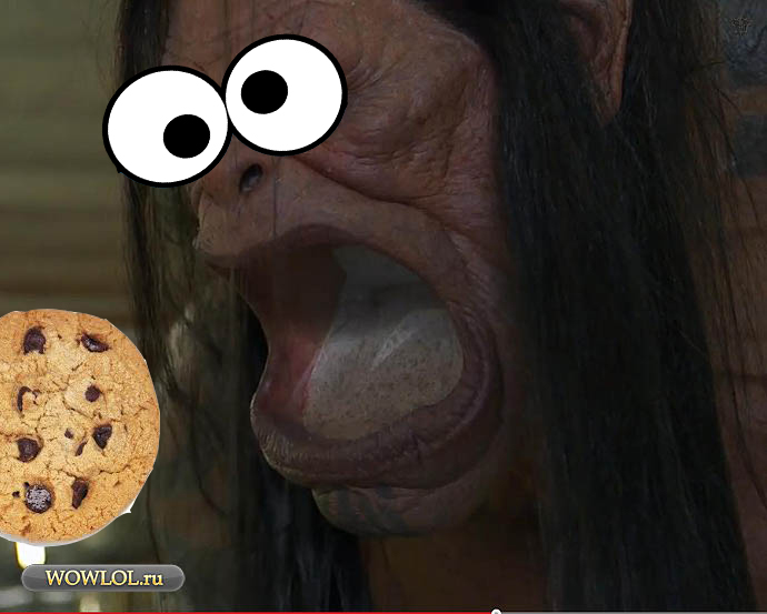 Cookie grommash!
