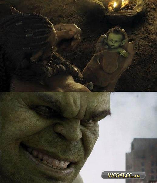 Коварный Халк не терял времени зря!