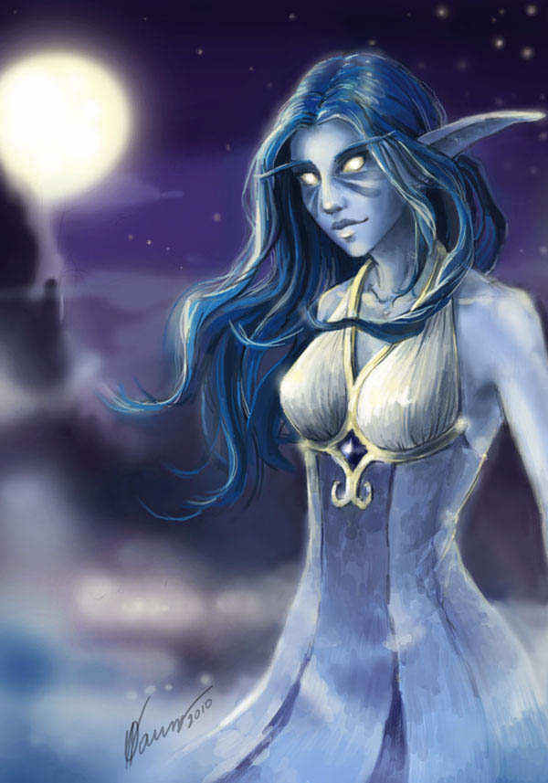 Ночная эльфийка