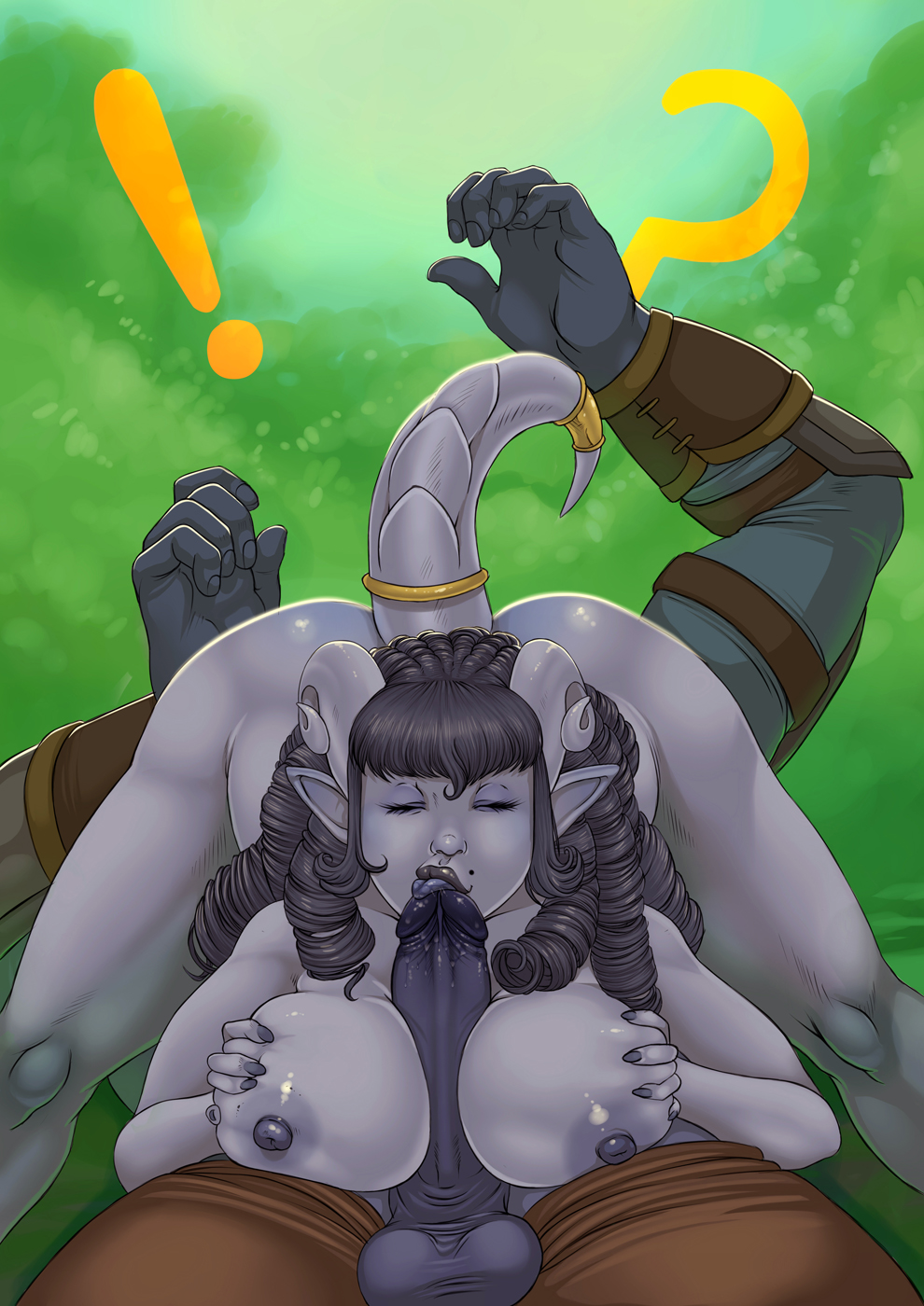 Draenei sex cartoon naked films