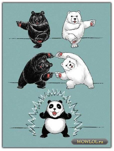 Рождение панды