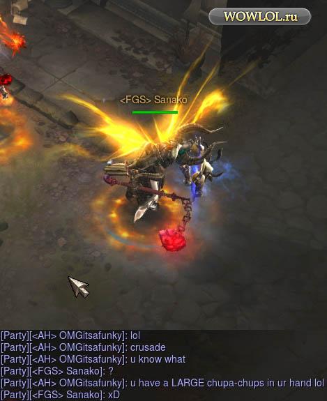Чупа-чупс из Diablo3