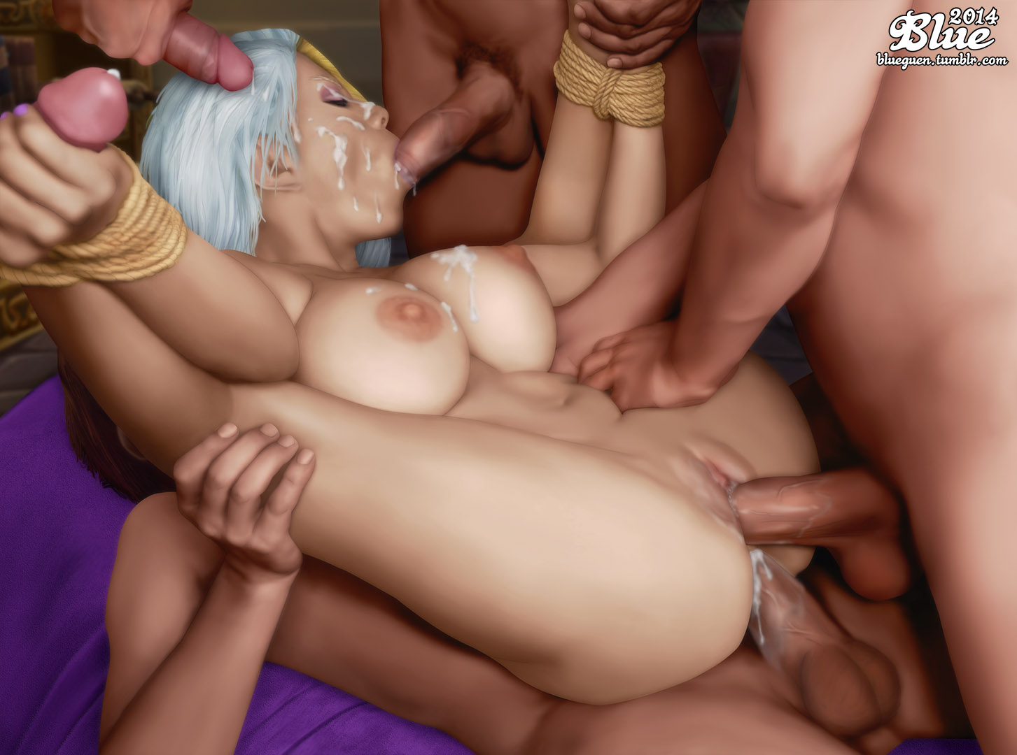Horndogg's big tits mod for wow porn tube