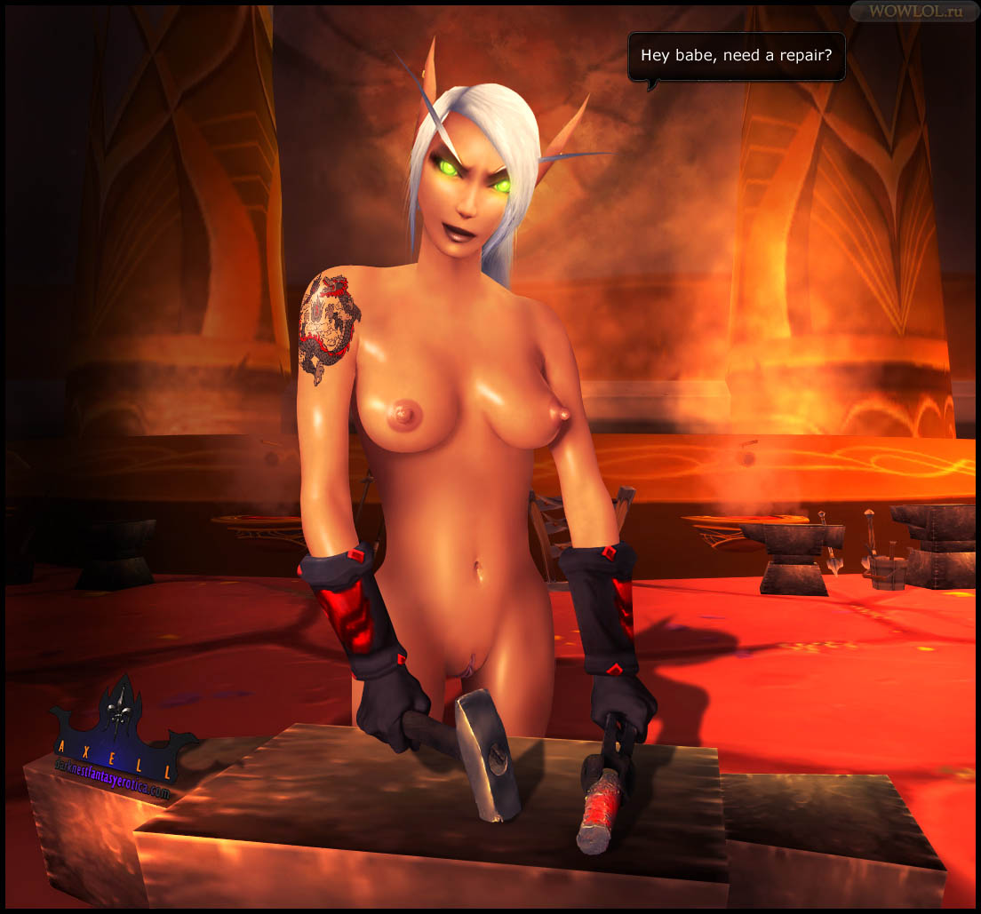 Sexy World of Warcraft nudes naked pic