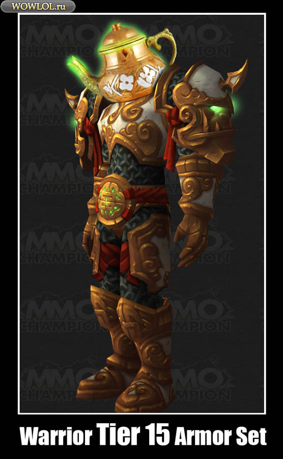 Warrior Tier 15 Armor Set