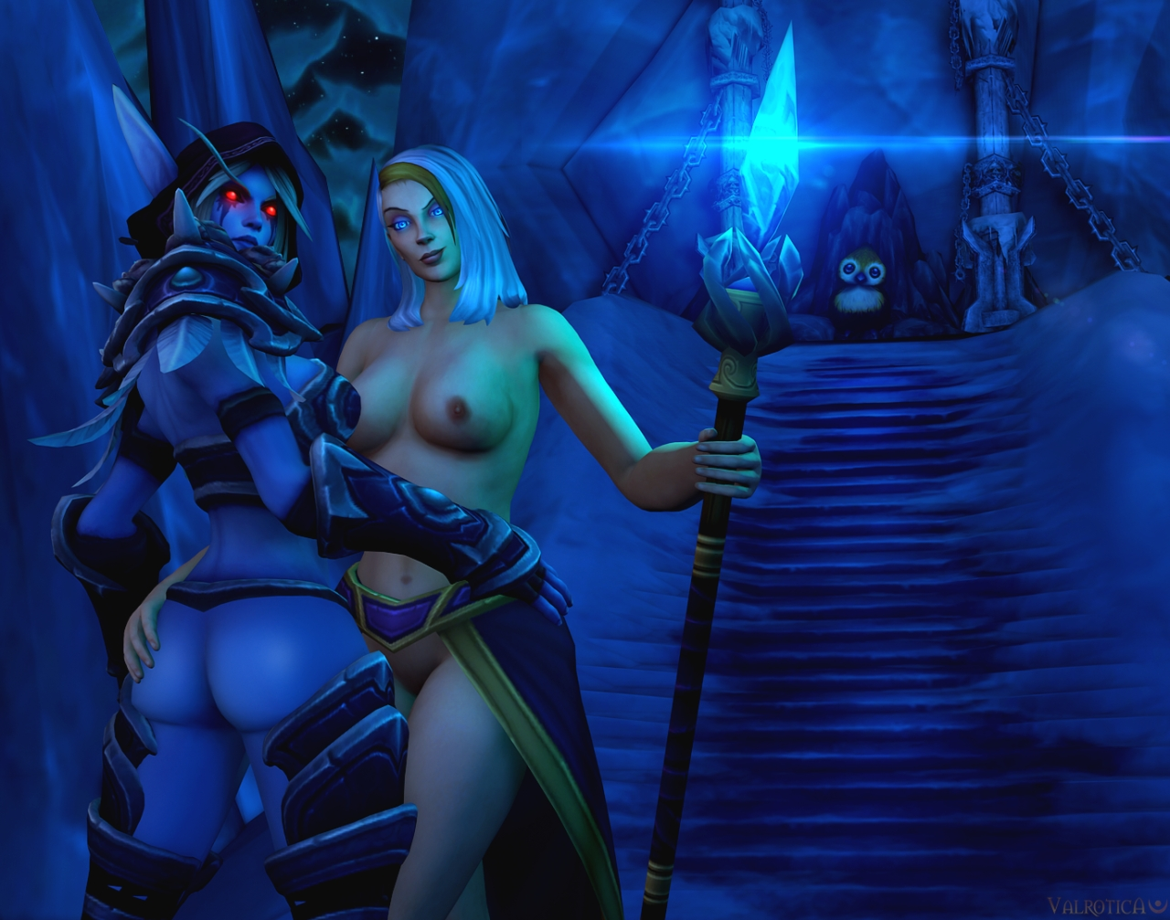 Sexy lady sylvanas wow porn porncraft video