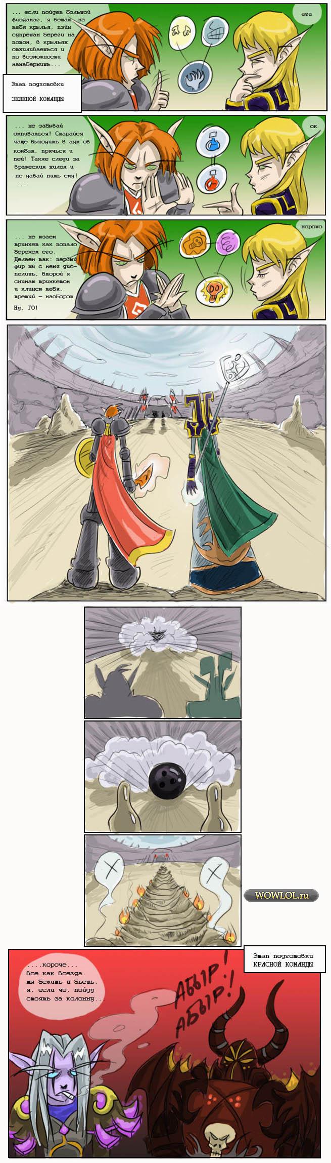 Древний комикс про имба друлевар брекет в БК.