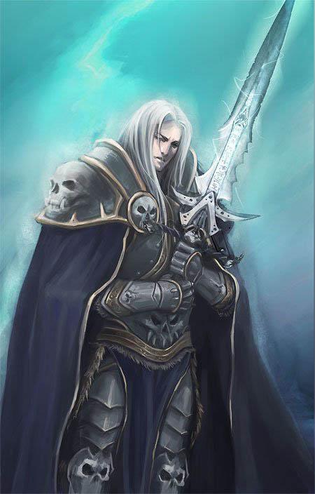 Артас с мечом