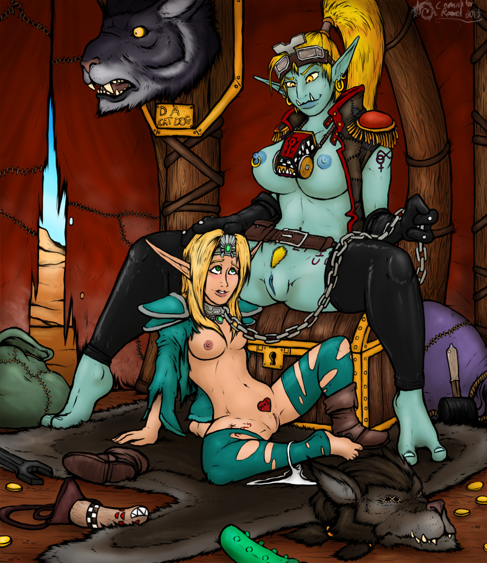 Blood elf and troll naked xxx super slut