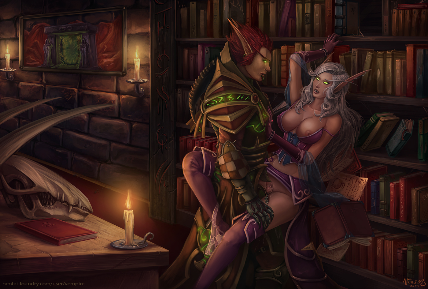 World of warcraft blood elf warlock porn  naked pics