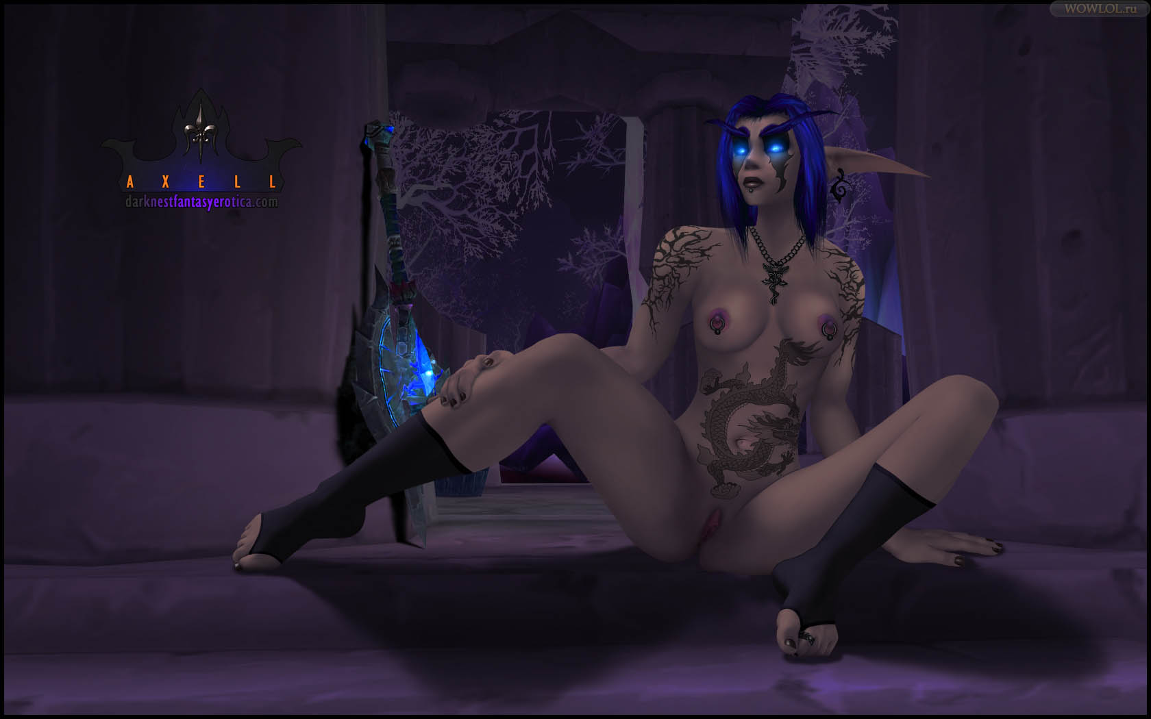 Sexy draenei girl sex animation wow xxx video